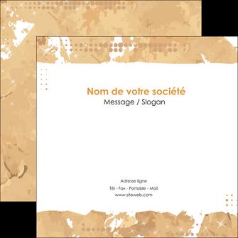 Impression flyer publicitaire  papier à prix discount et format Flyers Carré 12 x 12 cm