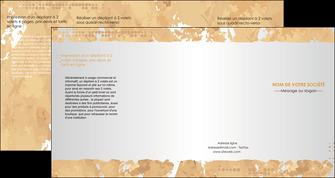 modele depliant 4 volets  8 pages  texture structure contexture MIF25949