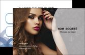 modele carte de visite centre esthetique  coiffure salon salon de coiffure MLIP25953