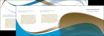 modele en ligne depliant 4 volets  8 pages  texture contexture structure MLGI25955