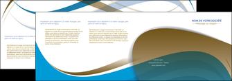 imprimerie depliant 4 volets  8 pages  texture contexture structure MLGI25957