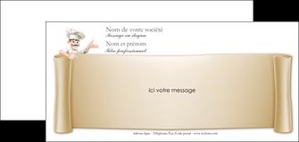 exemple carte de correspondance metiers de la cuisine menu restaurant restaurant francais MLGI26193