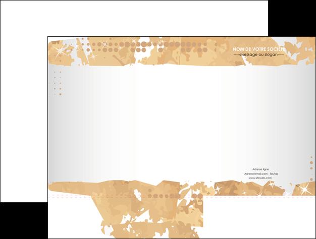 personnaliser maquette pochette a rabat texture structure contexture MLGI26225