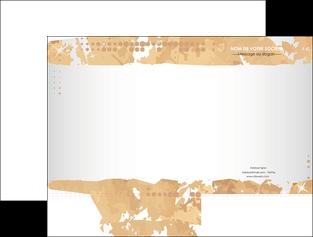 personnaliser maquette pochette a rabat texture structure contexture MIF26225