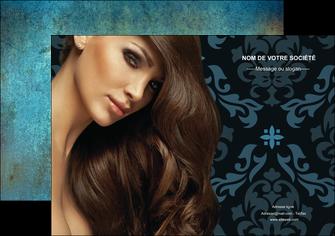 maquette en ligne a personnaliser affiche centre esthetique  coiffure salon de coiffure beaute MLGI26291
