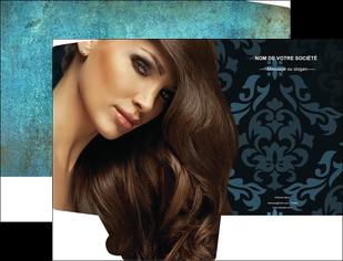 creer modele en ligne pochette a rabat centre esthetique  coiffure salon de coiffure beaute MLGI26307