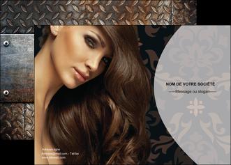 modele affiche centre esthetique  coiffure coiffeur coiffeuse MLGI26317