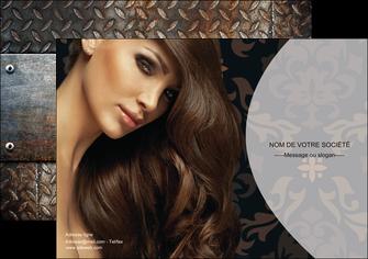 exemple affiche centre esthetique  coiffure coiffeur coiffeuse MLGI26319