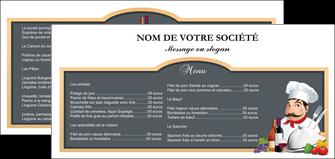 cree flyers metiers de la cuisine menu restaurant restaurant francais MIF26405