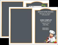 faire carte de visite metiers de la cuisine menu restaurant restaurant francais MLGI26429