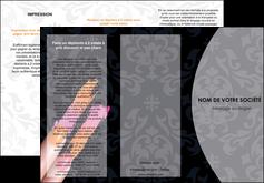 faire modele a imprimer depliant 3 volets  6 pages  cosmetique beaute ongles beaute des ongles MLGI26511