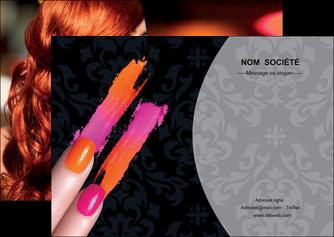 maquette en ligne a personnaliser flyers cosmetique beaute ongles beaute des ongles MLGI26513