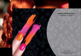 personnaliser maquette affiche cosmetique beaute ongles beaute des ongles MLGI26517