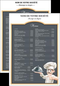 creation graphique en ligne affiche metiers de la cuisine c MLGI26535
