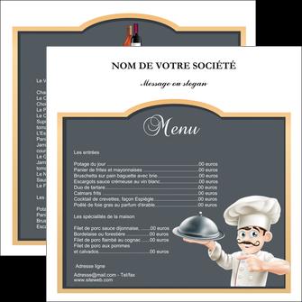 personnaliser modele de flyers metiers de la cuisine c MLGI26559