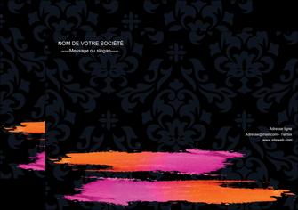 creer modele en ligne affiche cosmetique mode beaute salon MIF26675