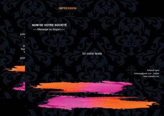 exemple flyers cosmetique mode beaute salon MIF26677