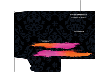 creation graphique en ligne pochette a rabat cosmetique mode beaute salon MLIG26683