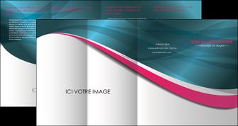 personnaliser modele de depliant 4 volets  8 pages  texture contexture structure MLGI26717