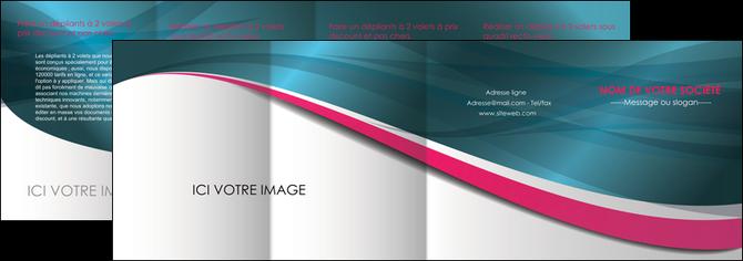 cree depliant 4 volets  8 pages  texture contexture structure MLGI26719