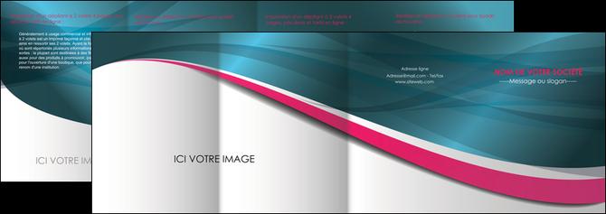 creer modele en ligne depliant 4 volets  8 pages  texture contexture structure MLGI26721