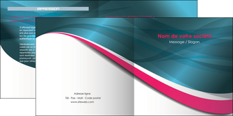 imprimerie depliant 2 volets  4 pages  texture contexture structure MLGI26739