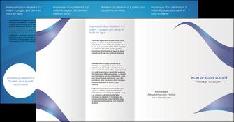 imprimer depliant 4 volets  8 pages  texture contexture structure MIF26767