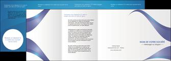 faire modele a imprimer depliant 4 volets  8 pages  texture contexture structure MIF26771