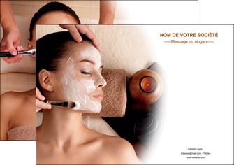 realiser affiche centre esthetique  masque masque du visage soin du visage MLGI26843