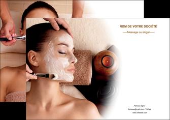 creer modele en ligne affiche centre esthetique  masque masque du visage soin du visage MLGI26845