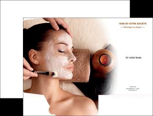 personnaliser modele de pochette a rabat centre esthetique  masque masque du visage soin du visage MLGI26859