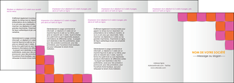 modele en ligne depliant 4 volets  8 pages  texture contexture structure MLGI26897