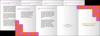 imprimer depliant 4 volets  8 pages  texture contexture structure MLGI26899