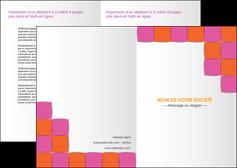 personnaliser modele de depliant 2 volets  4 pages  texture contexture structure MLGI26903