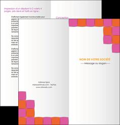 imprimer depliant 2 volets  4 pages  texture contexture structure MLGI26905
