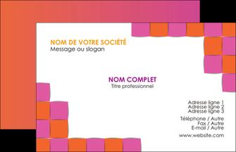 Commander Imprimerie carte de visite  modèle graphique pour devis d'imprimeur Carte de Visite - Paysage