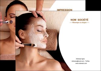 maquette en ligne a personnaliser flyers centre esthetique  masque masque du visage soin du visage MLGI27017