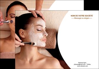 modele affiche centre esthetique  masque masque du visage soin du visage MLGI27021