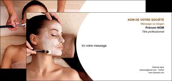 exemple carte de correspondance centre esthetique  masque masque du visage soin du visage MLGI27023