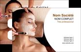 personnaliser maquette carte de visite centre esthetique  masque masque du visage soin du visage MLIP27035