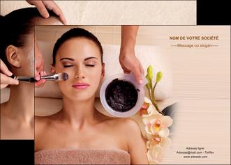 creation graphique en ligne affiche centre esthetique  masque masque du visage soin du visage MLGI27059