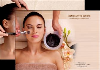 personnaliser maquette affiche centre esthetique  masque masque du visage soin du visage MLGI27061