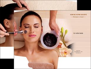 realiser pochette a rabat centre esthetique  masque masque du visage soin du visage MLGI27071