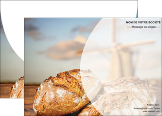imprimerie affiche sandwicherie et fast food boulangerie boulanger boulange MLGI27211