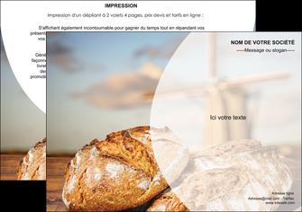 cree flyers sandwicherie et fast food boulangerie boulanger boulange MIF27215