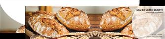 modele depliant 2 volets  4 pages  sandwicherie et fast food boulangerie boulanger boulange MIF27219