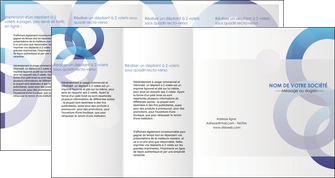 faire modele a imprimer depliant 4 volets  8 pages  texture contexture structure MIF27235