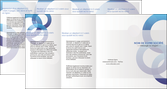 faire modele a imprimer depliant 4 volets  8 pages  texture contexture structure MLGI27235