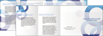 realiser depliant 4 volets  8 pages  texture contexture structure MIF27237