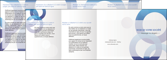exemple depliant 4 volets  8 pages  texture contexture structure MIF27239